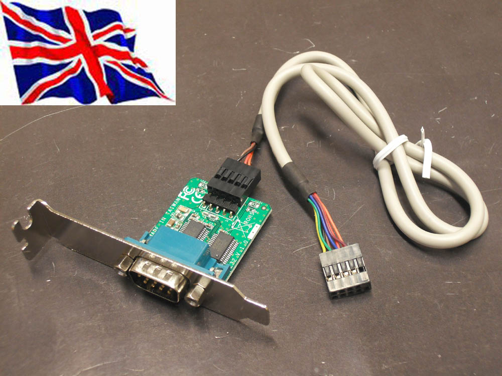 Internal Motherboard Usb Header To Serial Rs232 Adapter