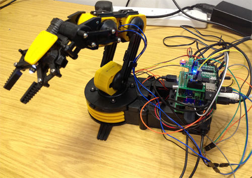 maplin robotic arm instructions