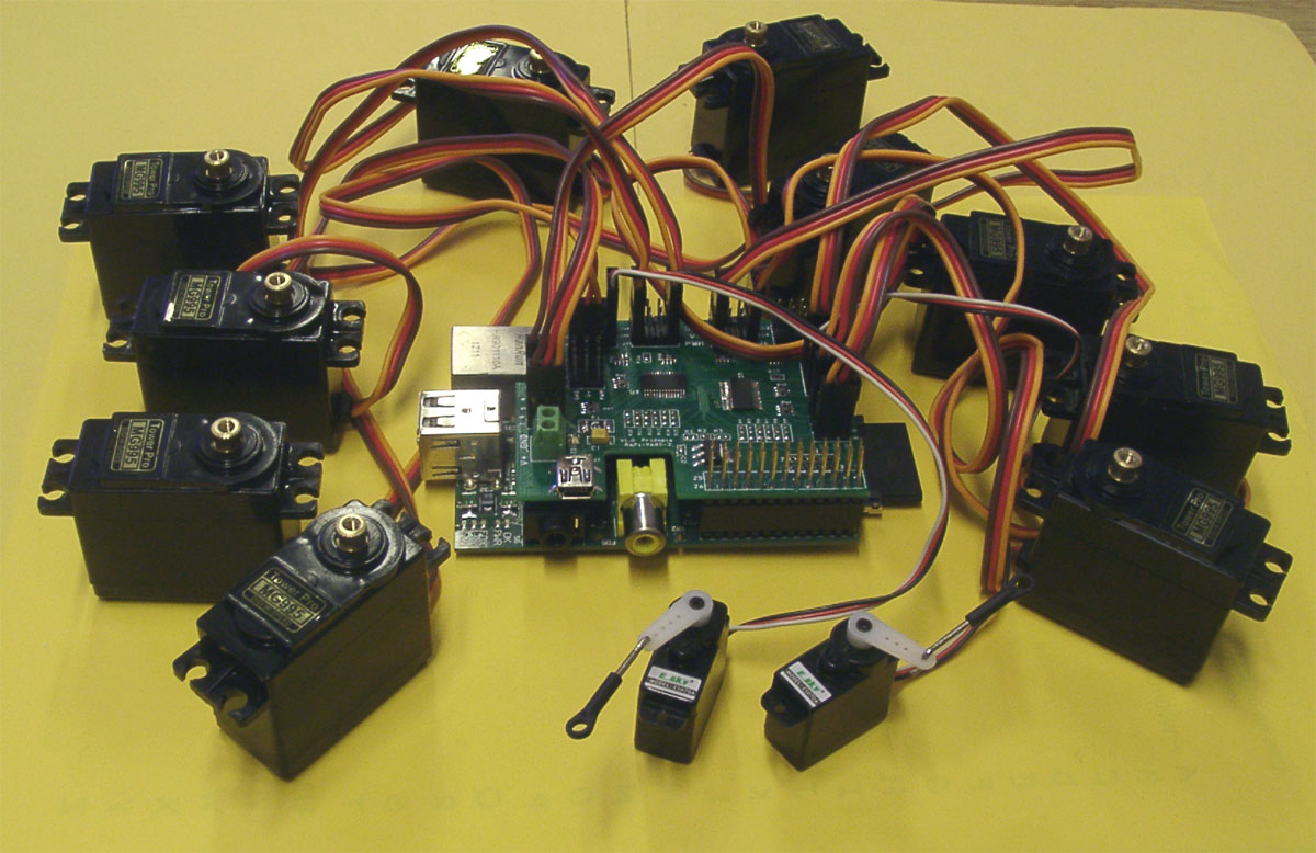 Rs pi i2c 32 channel 12 bit pmw servo board for raspberry for How to control a servo motor with raspberry pi